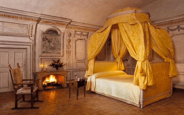 Где в Европе можно остановиться в замке-отеле