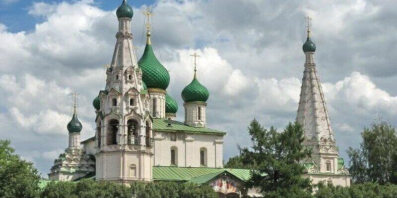 Ярославль — город на слиянии двух рек.