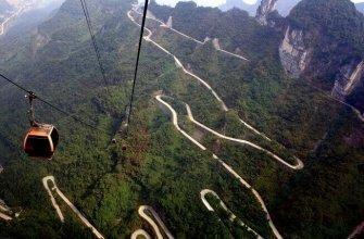 Лесной парк Чжанцзяцзе, Китай