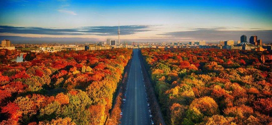 Туристический Берлин в ноябре