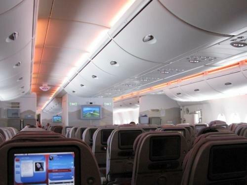 Салон А380 Emirates