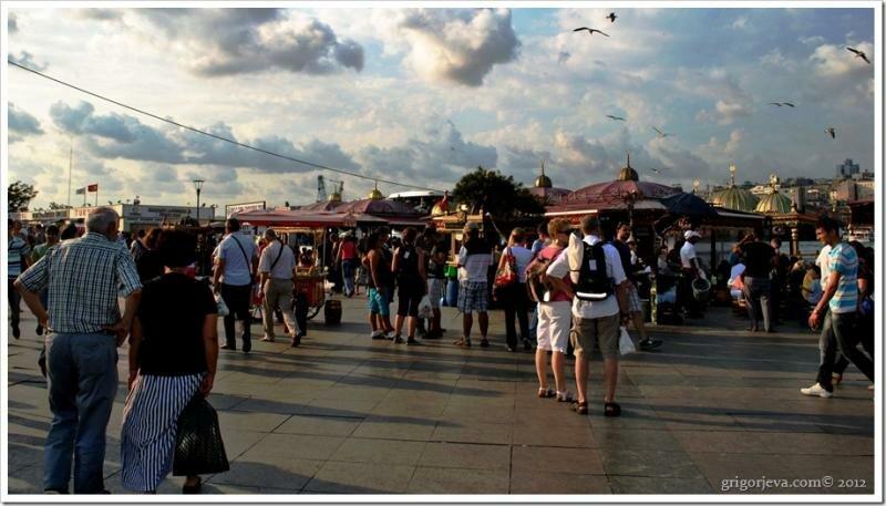 Пристань Еминаню, Стамбул