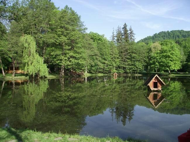 Карпатское озеро