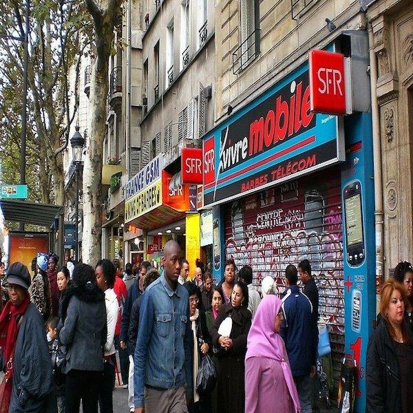 """Одна в Париже. Часть 2: базилика Сакре-Кёр и """"черные"""" кварталы"""