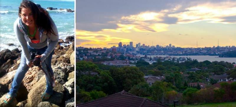 Аня Марчук - год учебы в Австралии, в Сиднее