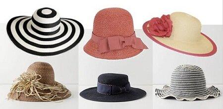шляпки в дорогу