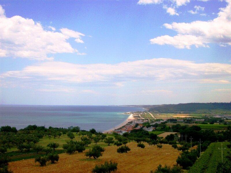 Побережье Адриатического моря, г. Васто, Италия