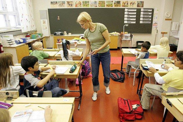Учат в школе по-американски