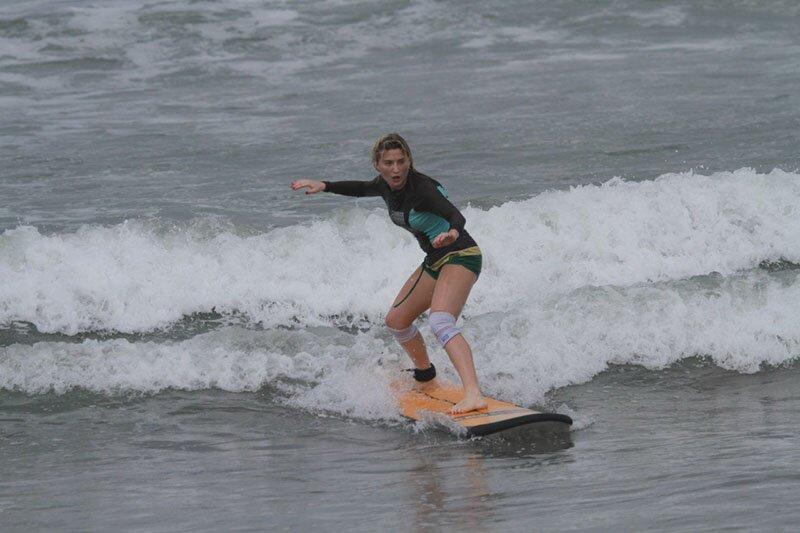 Как не нужно обучаться серфингу