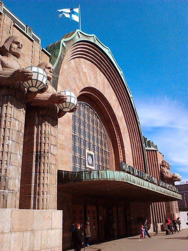 Rautatieasema, или железнодорожный вокзал