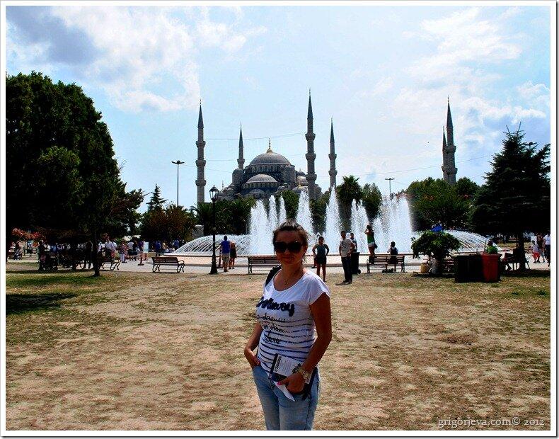 Я на площади Султанахмед