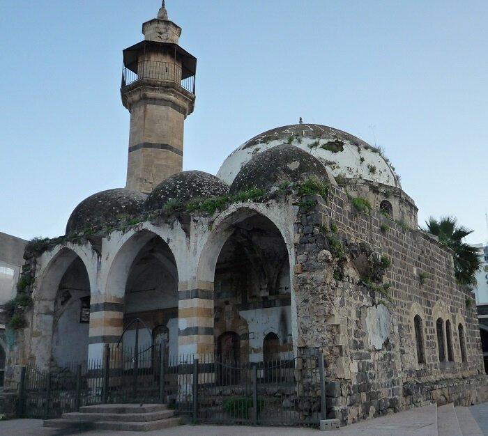 Старая мечеть в Тверии