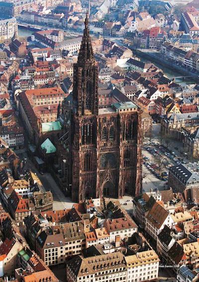 День Святого Валентина мечты в Страсбурге