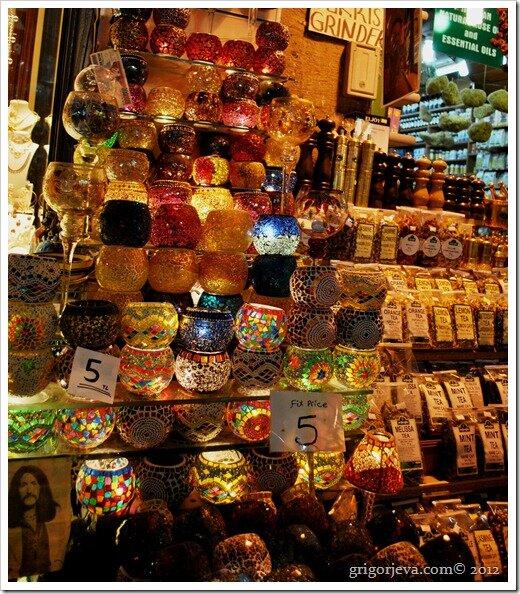 Волшебные светильники, Египетский базар, Стамбул