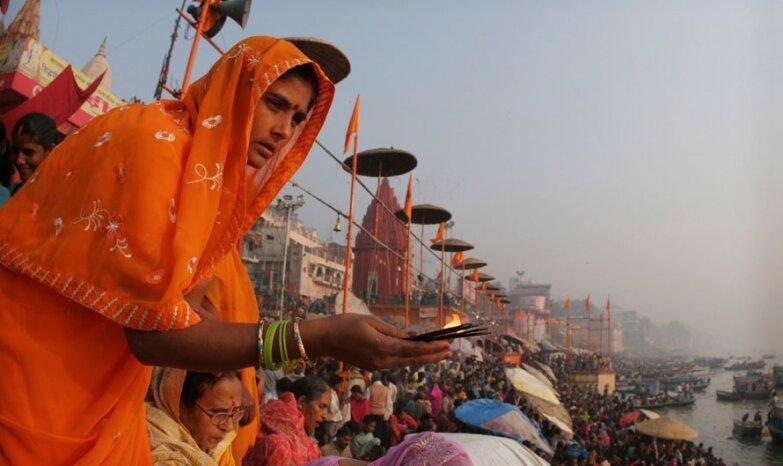 Будни в Варанаси, Индия