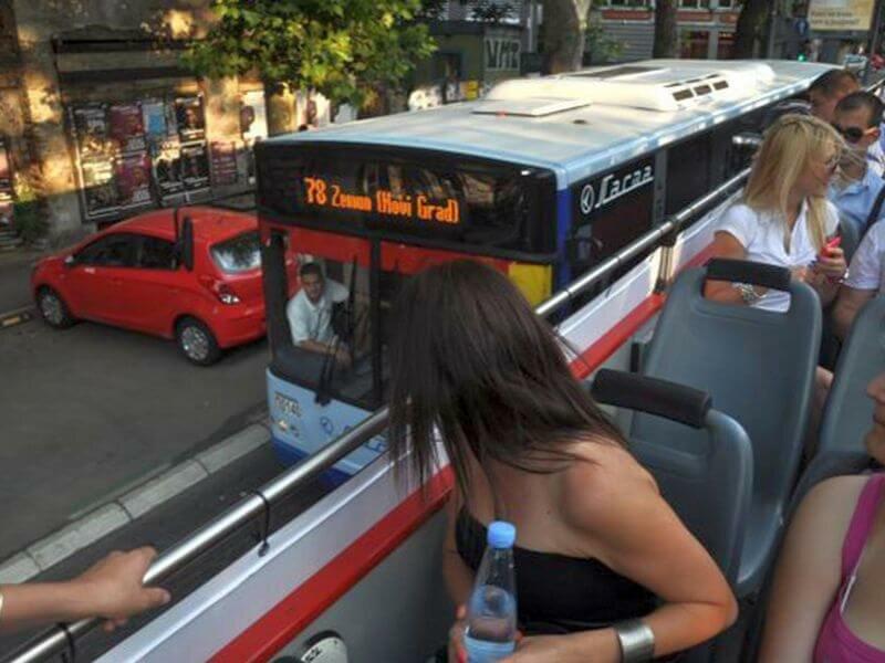 В Белграде появились экскурсии на даблдекерах на русском языке
