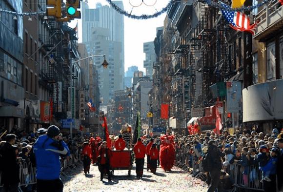 Китайский Новый Год по-американски