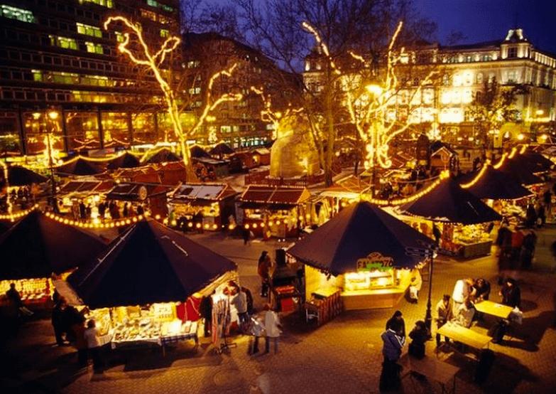 Cамые красивые рождественские рынки Будапешта