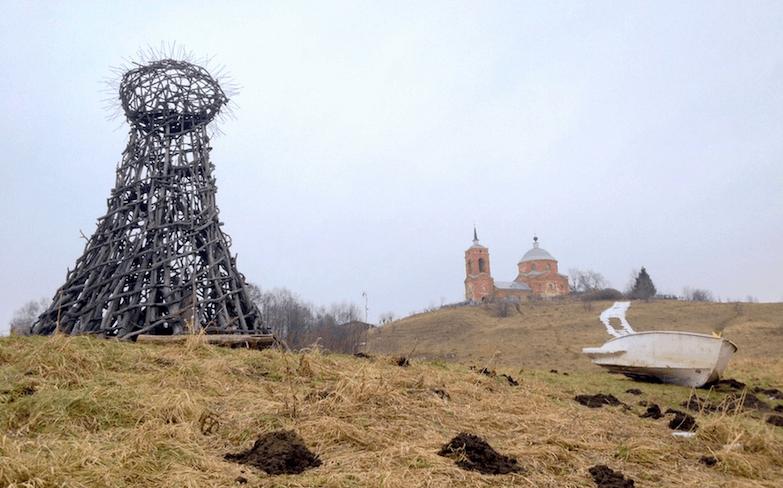 Nikola Lenivets - российский ленд-арт