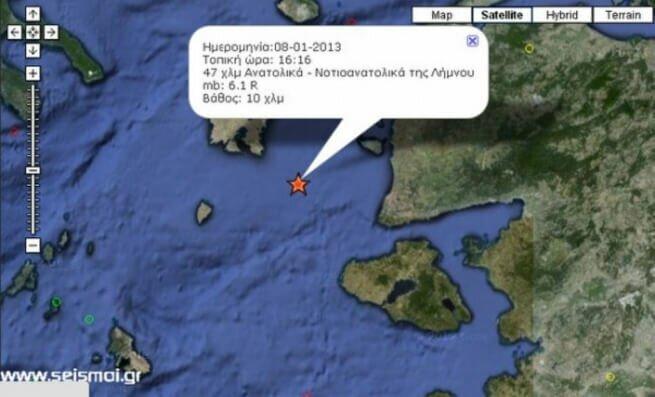 Российские туристы от землятресения в Греции не пострадали.